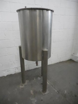 Stainless steel 58 gallon tank