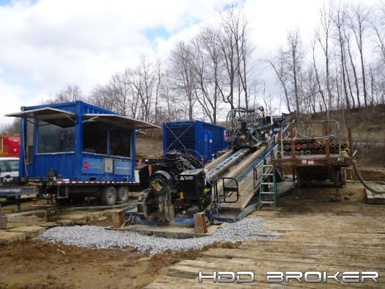 2013 American Augers DD-1100RS 18395
