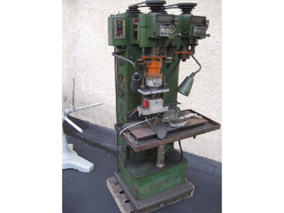 SNOW 2SPDR-2-S 2 SPINDLE DRILLER/TAPPER