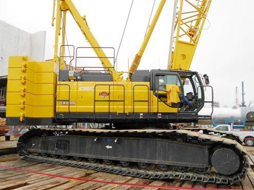 2012 KOBELCO CK-1600G Crawler Crane