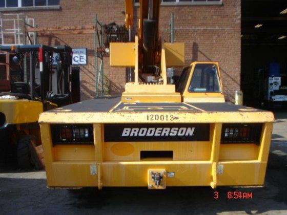 2012 BRODERSON IC200 3G Industrial