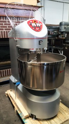 NEW LP GROUP VIS-R 120 120KG 265LB INDUSTRIAL SPIRAL DOUGH FOOD MIXER FIXED  BOWL in Escondido, CA, USA