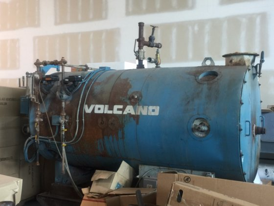 Low Pressure Steam Boiler – Volcano in Langley, British Columbia, Canada