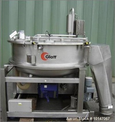Used-Glatt Systemtechnik GmbH Dresden Noduliser/Spheronizer,
