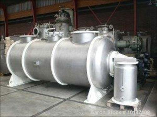 Used- Lodige DVT-6300-4Z Turbulent Dryer