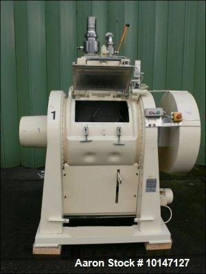 Used-Drais Powder Turbo Mixer. Capacity