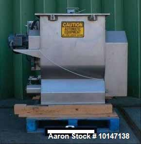 Used-Forberg Double Shaft Paddle Mixer,