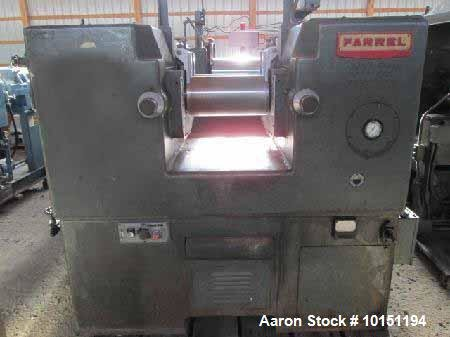 Used- Farrel 2 Roll Mill.