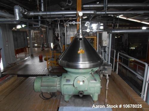 Used- Westfalia RSB-100-01-776 Refining Desludger