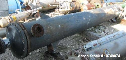 Used-Astro Heat Exchanger, shell and