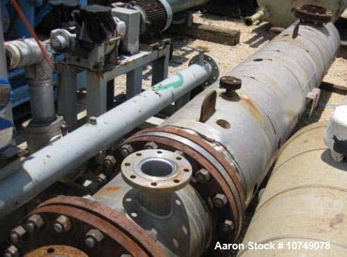 Used-Ledco Heat Exchanger, shell and