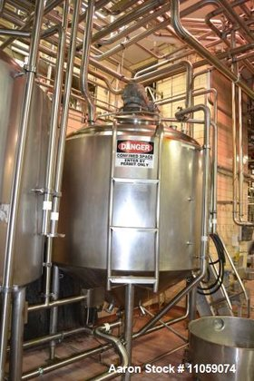 Used- 800 Gallon Crepaco Jacketed