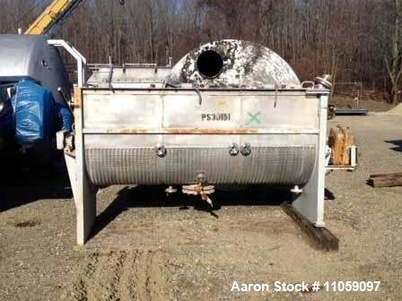 Used- Munson 100 cubic/foot jacketed