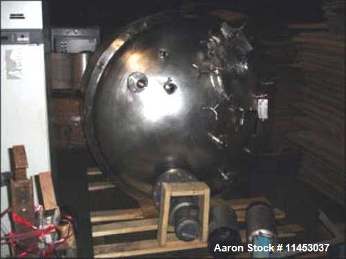 Used-Vessel Craft reactor, 650 gallon,