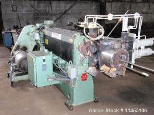 Used-Davis Standard Thermatic Extruder, model