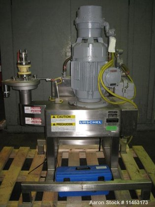 Used-Urschel Comitrol Mill, Model 1500,