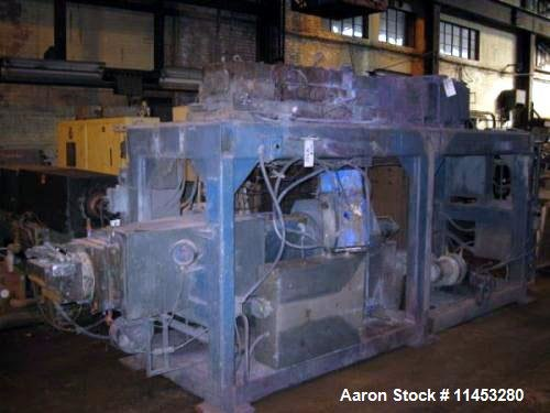 Used- Farrel Continuous Mixer/Extruder, Model