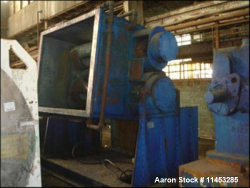 Used- Aaron Process Equipment Double