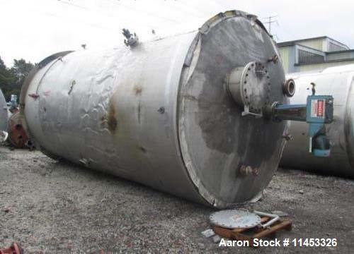 Used- 12,000 Gallon 304 Stainless