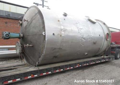 Used- 12,000 Gallon Stainless Steel