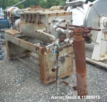 Used-Bethlehem Corp Porcupine Processor Dryer,