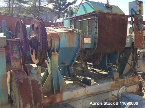 Used-Day mixer/extruder, 75 gallon working