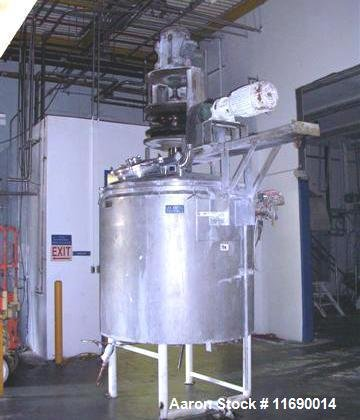 Used- Lee 500 Gallon Jacketed