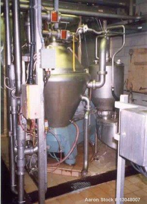 Used-Alfa Laval BRPX-617 desludger disc