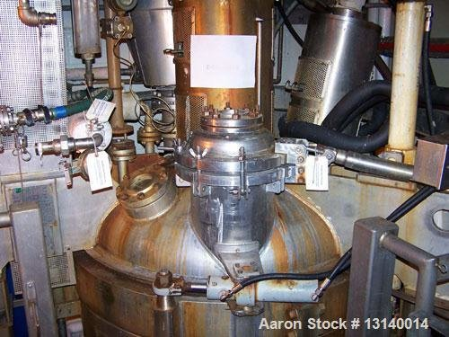 Used-Cogeim Hastelloy Pan Dryer, Model