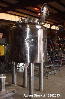 Used- Berents 165 Gallon Reactor.