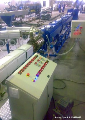 """Used- Pipe Extrusion Line, 1.57"""""""