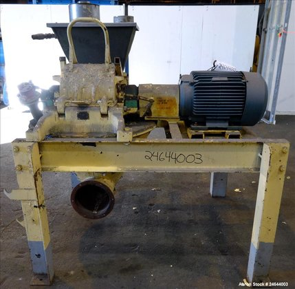 Used- Mikro pulverizer, model 3TH,