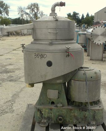 Used- Sharples DH-3 Nozzlejector Centrifuge,
