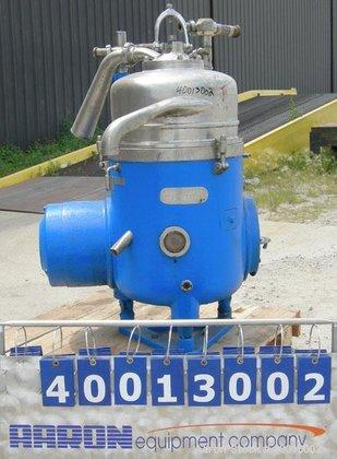 Used- Westfalia RTA-45-01-074 Solid Bowl
