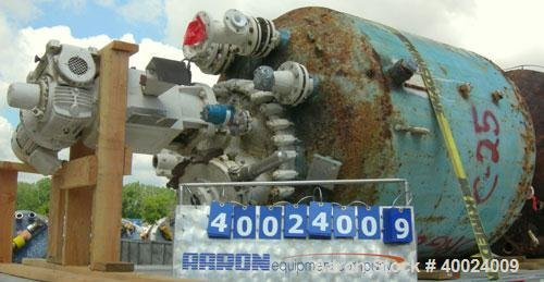 Used- Pfaudler Glass Lined Reactor,