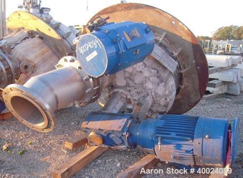 Used- Schenk Centrifugal Discharge Pressure