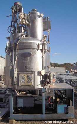 Used- Guedu Mixer/Dryer, 1600 Liter
