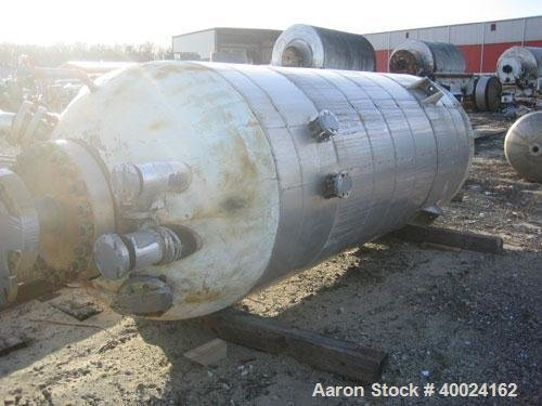 Used- Patterson Pressure Vessel, 1670