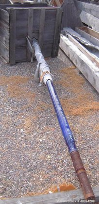 Used- Glass Lined Agitator for