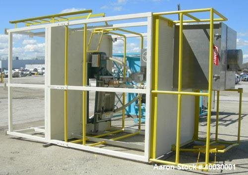 Used- Resin Screening Tower Consisting