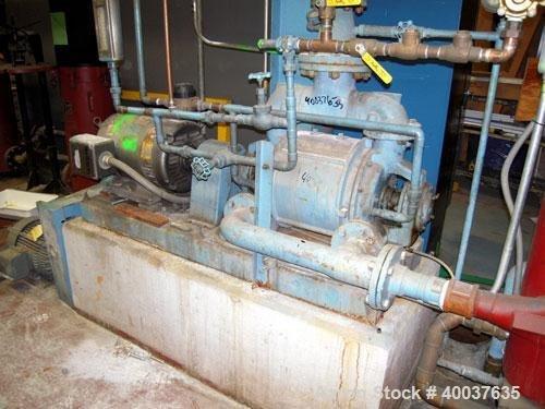 Used- Nash Vacuum Pump, 14520040300000D,