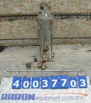 Used- Mechanical Filtration Basket Strainer