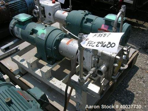 Used- APV Rotary Lobe Pump,
