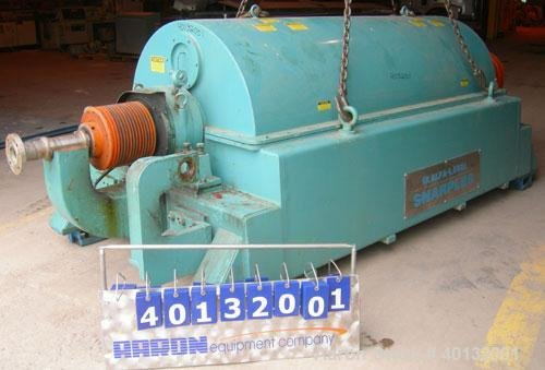 Used- Sharples DS-705 Super-D-Canter Centrifuge