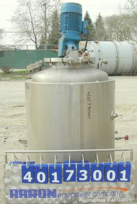 Used-A-L Stainless Inc Fermentor, 80