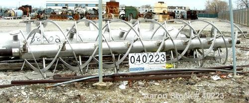 Used- Stainless Steel Ribbon Agitator,