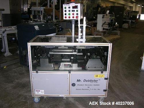 Used- Gemel Mr. Deblister product