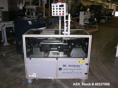 Used- Gemel Mr. Deblister product