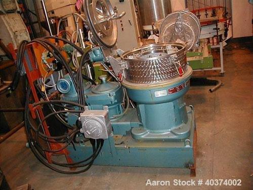 Used-Rousselet Basket Centrifuge, type RC50PXME.