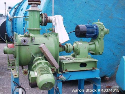 Used-Lodige Ploughshare Batch Powder Mixer,